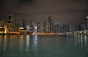 Dubai Photos - Nightscape by Corinne Rhode