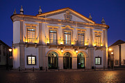 Nigel Hamer Metal Prints - Nighttime At Faro City Hall Metal Print by Nigel Hamer
