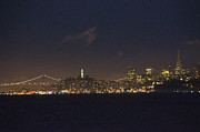 Charters Posters - Nighttime View From San Francisco Bay Poster by Scott Lenhart