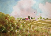 Suzanne McKay - Nimbus Clouds And Farm