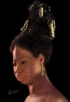 Nina Simone Print by Reggie Duffie
