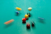 Pocket Billiards Prints - Nine Ball Break  Greenville SC Print by Willie Harper