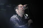 Front Row  Photographs  - Nine Inch Nails
