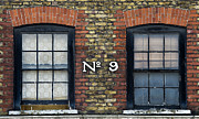 Brick Buildings Prints - Nine  Print by Tim Gainey