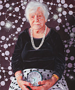 Mother Painting Originals - Ninety Two by Denny Bond