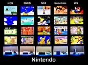 Video Art - Nintendo History by Benjamin Yeager