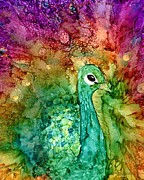 Alcohol Ink Prints - Niobe Print by Karen Walker