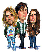 Art  Prints - Nirvana Print by Art