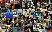 Music Legend Mixed Media Framed Prints - Nirvana collage Framed Print by Taylan Soyturk