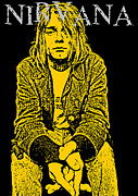Rock N Roll Digital Art - Nirvana No.07 by Caio Caldas