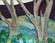 Landscapes Tapestries - Textiles - Nisqually II by Susan Macomson