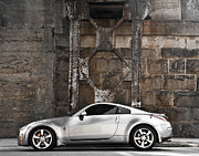 Car Poster Prints - Nissan 350Z Print by Jt PhotoDesign