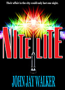 Book Jacket Design Art - Nite Lite Book Cover by Mike Nellums