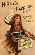 Nixey�s 1890s Uk Black Lead  Products Print by The Advertising Archives