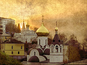 Towns Digital Art - Nizhny Novgorod by Irina Hays