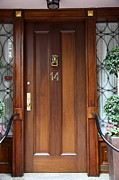 Entrance Door Photos - No. 14 Beacon Hill - Boston by Christiane Schulze