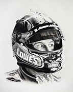 Jimmie Johnson Framed Prints - No. 48 Framed Print by Patrick Entenmann