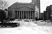 Winter Photos Prints - No Court Today 1990s Print by John Rizzuto