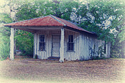 Abandoned School House. Framed Prints - No More Gas Framed Print by Danny Pickens