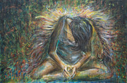 Angel Painting Metal Prints - No Paradise Metal Print by Nik Helbig
