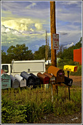 Mailboxes Photos - No Parking Anytime II by Madeline Ellis
