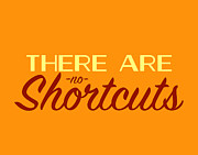 Typographic  Photos - No Shortcuts by Brandon Addis