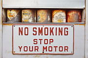 Stop Sign Photos - No Smoking Stop Your Engine by Matt Suess