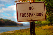 Jahred Allen Photography Posters - No Trespassing Poster by Jahred Klahre