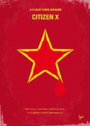 No017 My Citizen X Minimal Movie Poster Print by Chungkong Art