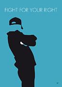 No025 My Beastie Boys Minimal Music Poster Print by Chungkong Art