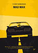 No051 My Mad Max Minimal Movie Poster Print by Chungkong Art