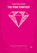 Diamond Posters - No063 My Pink Panther minimal movie poster Poster by Chungkong Art