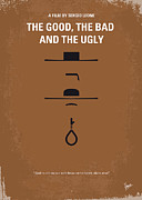 No090 My The Good The Bad The Ugly Minimal Movie Poster Print by Chungkong Art