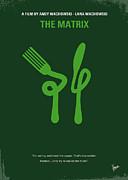 No093 My The Matrix Minimal Movie Poster Print by Chungkong Art