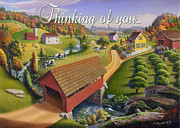 Covered Bridge Originals - no1 Thinking of you by Walt Curlee
