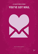 Romantic Art Print Prints - No107 My Youve Got Mail movie poster Print by Chungkong Art