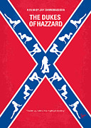 Gift Digital Art - No108 My The Dukes of Hazzard movie poster by Chungkong Art