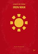 No113 My Iron Man Minimal Movie Poster Print by Chungkong Art
