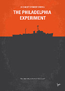 Best Digital Art - No126 My The Philadelphia Experiment minimal movie poster by Chungkong Art