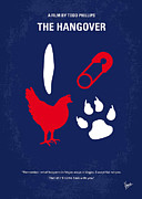 Chicken Digital Art Posters - No145 My THE HANGOVER minimal movie poster Poster by Chungkong Art