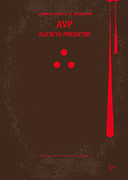 No148 My Avp Minimal Movie Poster Print by Chungkong Art
