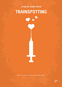 Live Art Posters - No152 My TRAINSPOTTING minimal movie poster Poster by Chungkong Art