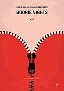 No167 My Boogie Nights Minimal Movie Poster Print by Chungkong Art
