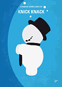 Pixar Digital Art - No172 My Knick Knack minimal movie poster by Chungkong Art