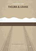 Louise Posters - No189 My Thelma and Louise minimal movie poster Poster by Chungkong Art