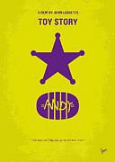 No190 My Toy Story Minimal Movie Poster Print by Chungkong Art