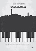 Popular Metal Prints - No192 My Casablanca minimal movie poster Metal Print by Chungkong Art