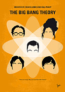 Cult Digital Art - No196 My The Big Bang Theory minimal poster by Chungkong Art