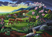 Tennessee Farm Originals - no20 Greetings from Appalachia by Walt Curlee