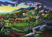 Tennessee Farm Originals - no20 Guess What by Walt Curlee